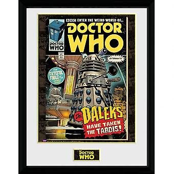 Doctor Who Picture Comic 16 x 12