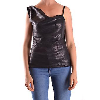 Pinko Ezbc056064 Women's Black Sequins Top