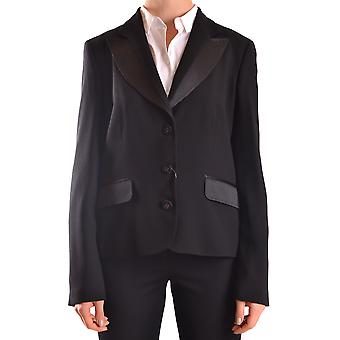 Love Moschino Ezbc061024 Women's Black Acetate Blazer