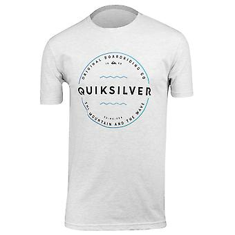 Quiksilver Mens Zone Out T-Shirt - Snow White Heather