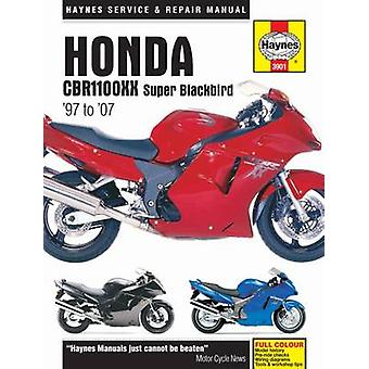 Honda CBR1100XX Super Blackbird Motorcycle Repair Manual by Anon - 97