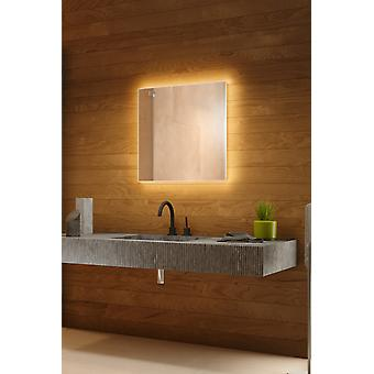 Marvel Backlit Mirror with Sensor, Demister and Shaver Socket k702BLCW