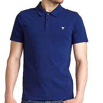 Guess Men ' s Duane pequeno logo Polo shirt
