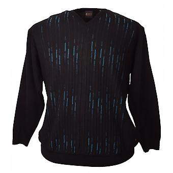 GABICCI Gabicci Fashion Patterned V Neck Sweater