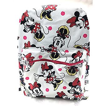 Backpack - Disney - Minnie Mouse White School Bag New 100315