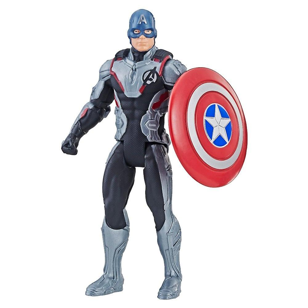 Marvel Avengers kapten Amerika team Suit slutspel 6 tums Action figur