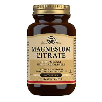 Solgar Magnesium Citrate Tablets 60 (1710)