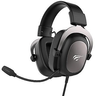 Havit GAMENOTE HV-H2002U Headset-7.1 Channel USB-Black, gunmetal