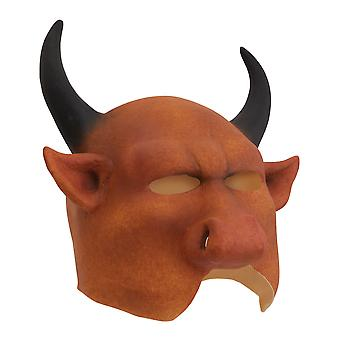 Bristol Novelty Adults Unisex Mouthless Devil Mask