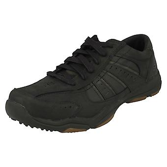 Mens Skechers Casual Lace up Trainers Nerick