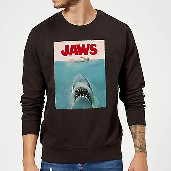 Jaws Classic poster sweater-zwart