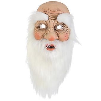 Masca Moș Crăciun Moș Crăciun Mos Craciun jumătate masca