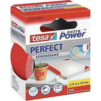 tesa 56343-00038-02 klut tape tesa® ekstra strøm rød (L x B) 2,75 m x 38 mm 2,75 m