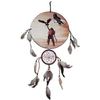 Indian Chief und Eagle Dreamcatcher