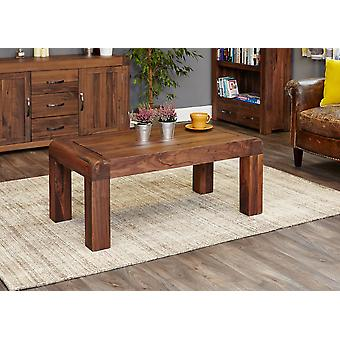 Shiro Walnut Medium Open Coffee Table Brown - Baumhaus