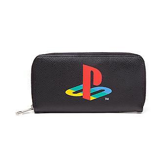 Playstation Tessitura zip intorno Purse Portafoglio Coin Pouch 24 cm (GW278313SNY)