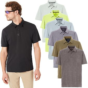 Oakley Sport Mens Aero Ellipse Dri-Tech Regular Fit Polo Shirt