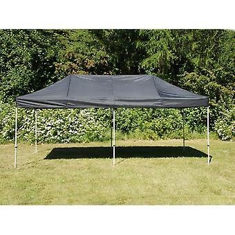 Vouwtent/Easy up tent FleXtents Steel 3x6m Zwart