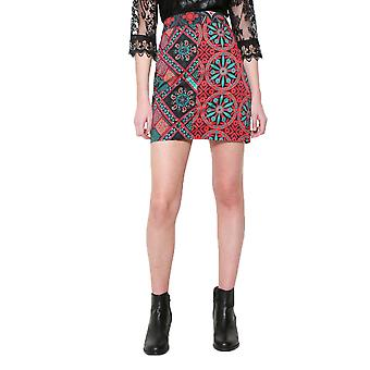 Desigual Women's Patterned Henri Mini Falda