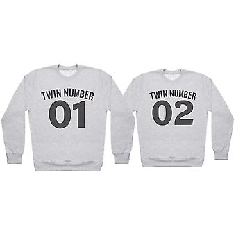 Twin Number 1, Number 2 - Twin Set - Mens & Womens Sweaters - (Sold Separately)