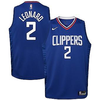 Nike Nba Los Angeles Clippers Kawhi Leonard Youth Swingman Jersey - Icon Edition
