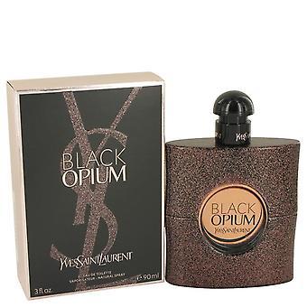 Black opium eau de toilette spray by yves saint laurent 533725 90 ml