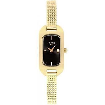 Opex OPW010 Watch - BALLERINE Yellow Steel Bracelet Box Steel Dor Steel Women
