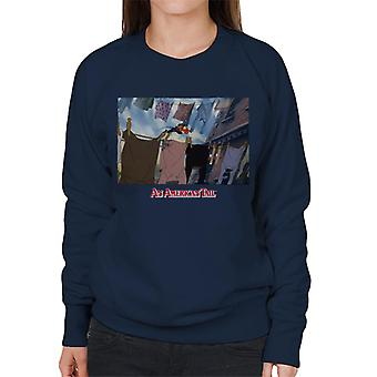 An American Tail Fievel Running On Rope Women's Sweatshirt