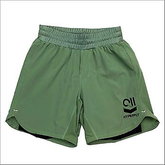 Hyperfly icon grappling shorts green