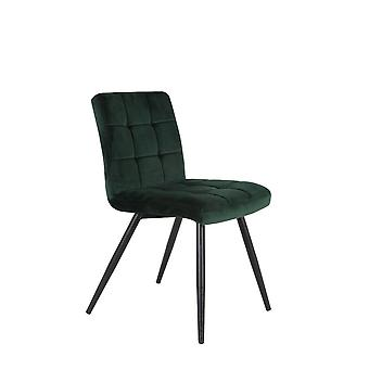 Light & Living Dining Chair 49x57x84cm Olive Velvet Dark Green