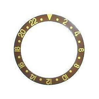 Bezel insert made by w&cp to fit rolex 315-16758-3 generic bezel insert