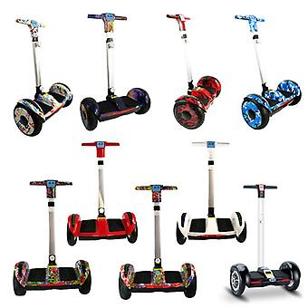 FLJ Electric E Scooter Hoverboard with Handle - 10.5