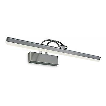 Firstlight Poster LED Picture Light, 11w, Brushed Steel