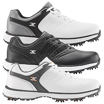 Stuburt Golf Mens 2021 Evolve Tour II Spiked Premium Leather Waterproof
