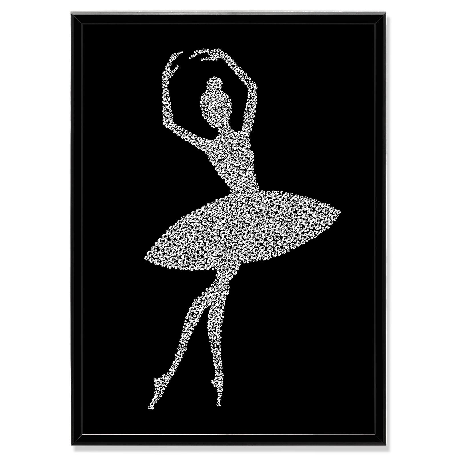 Crystal Art Picture Ballerina MBP-6
