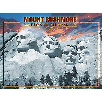 Mount Rushmore Poster National Memorial Wall Art Print (24x18)