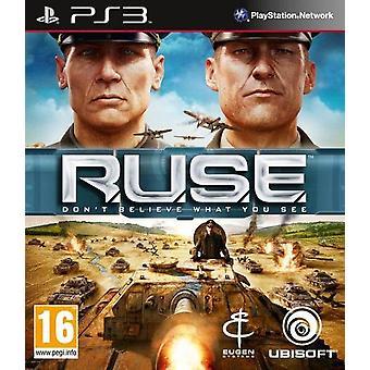 R.U.S.E. (RUSE) PS3 Game