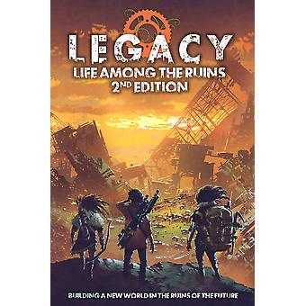 Dice set Legacy Life bland ruinerna RPG 2nd Edition
