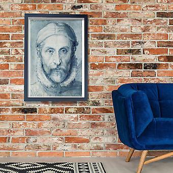 Giuseppe Arcimboldo - retrato del uno mismo cartel impresión Giclee