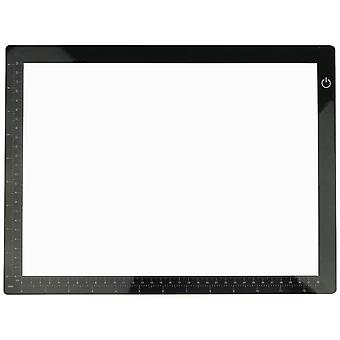 Xtralite LED Light Box Dimmable Ultra Thin USB Chargeable For Art/Drawing A3 - A4