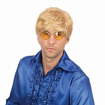 Male Wig. Short. Blonde