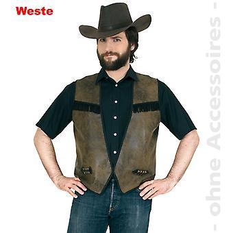 Gilet costume Monsieur Vacher éleveur veste mens costume de cow-boy
