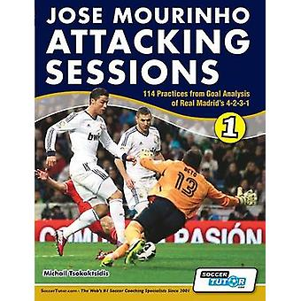 Jose Mourinho Attacking Sessions  114 Practices from Goal Analysis of Real Madrids 4231 by Tsokaktsidis & Michail