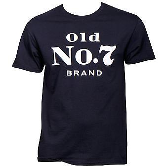Jack Daniels Vieux No. 7 Marque Logo T-Shirt