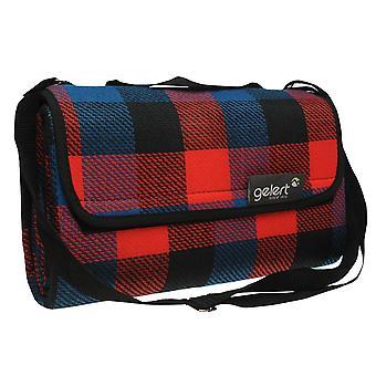 Gelert unisex picnic tæppe tæppe termisk med bærehåndtag udendørs Rejsetæppe