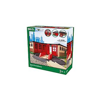 Brio 33736 Grand Roundhouse.  Wooden Railway
