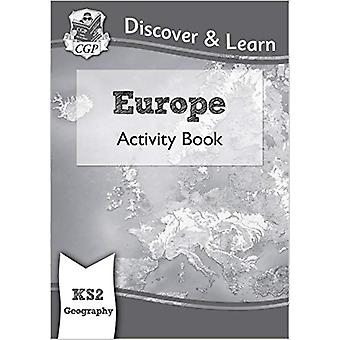 New KS2 Discover & Learn - Geography - Europe Activity Book by CGP