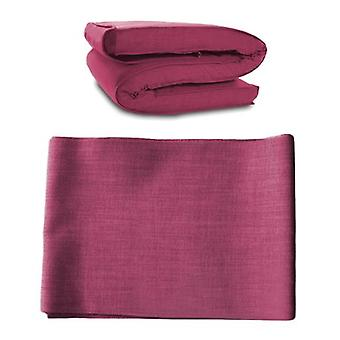 Matching Bedroom Sets Futon Mattress COVER ONLY, Single 1 Seater in Pink. Available in 11 Colours