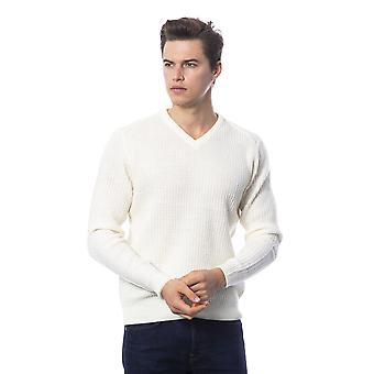 Rich John Richmond Off White Sweater -- RI81861552