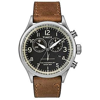 Timex kelloon chronograph kvartsi miesten katsella nahka TW2R70900